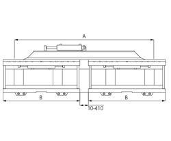 2DL-3DL - Двойные и тройные каретки бокового смещения